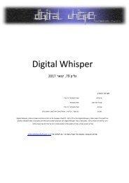 Digital Whisper