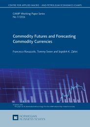 Commodity Futures and Forecasting Commodity Currencies