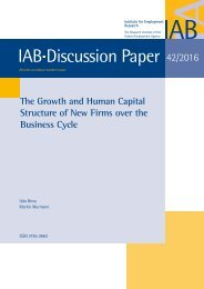 IAB Discussion Paper