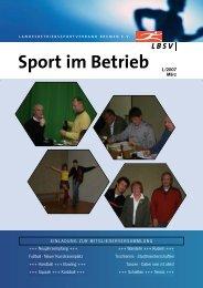 Sport im Betrieb - LBSV Bremen