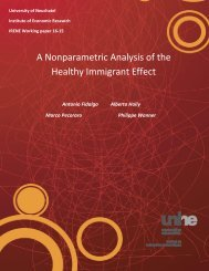 A Nonparametric Analysis of the Healthy Immigrant Effect
