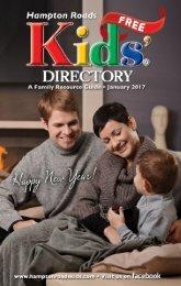 Hampton Roads Kids' Directory: January 2017