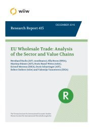 EU Wholesale Trade Analysis of the Sector and Value Chains