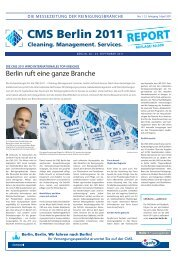 CMS Report Nr. 1 - April 2011 (PDF, 7 - CMS Berlin