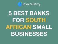 The 5 Best Banks for South African Small Businesses