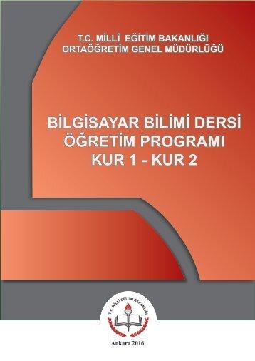 Bilgisayar Bilimi Öğretim Programı