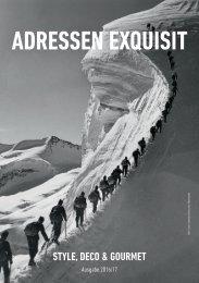 Adressen Exquisit 2016/17