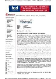 Seite 1 von 2 BerlinOnline: Berliner Zeitung Archiv - Zum Kuscheln ...