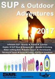 SHARK SUP Katalog 2017