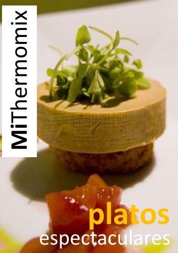 Revista Mi Thermomix platos espectaculares - eMiThermomix