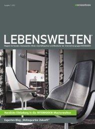 Magazin Lebenswelten: Ausgabe 1|2012 - Duesseldorf Realestate