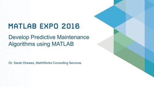 Algorithms using MATLAB