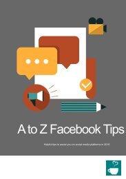 A to Z Facebook Tips