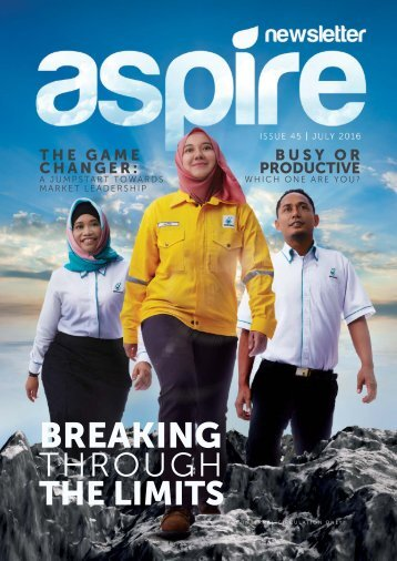 Aspire Issue 45 - Latest 14 July 16