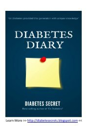 Tips for controlling diabetes with diet and exercise