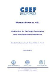 WORKING PAPER 461