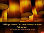 5 Things Seniors Can Look Forward to Post-Retirement