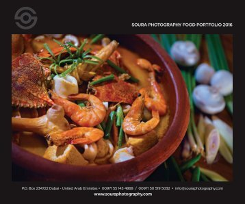 SOURA FOOD PHOTOGRAPHY BOOK