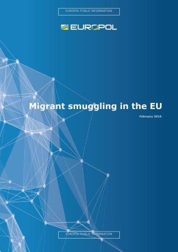 Migrant smuggling in the EU