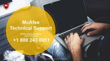 McAfee antivirus support number pdf