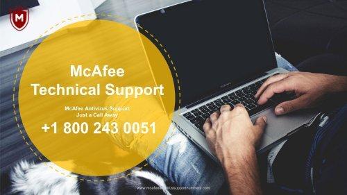 McAfee antivirus support number pdf