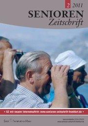 Wo war's - Senioren Zeitschrift Frankfurt