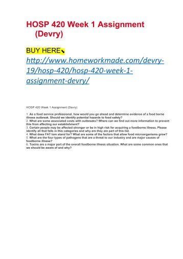 week 1 assignment mgmt 410 Mgmt 410 – week 1 strategic linkages assignment if you are looking for something else, email me at archmage@homeworkmarketcom.
