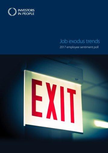 Job exodus trends