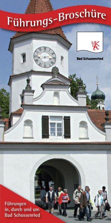 Führungs-Broschüre - Bad Schussenried