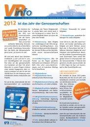 """""""tag der offenen tür"""" so., 15. Januar, 14 - VR-Bank Rhein-Sieg eG"""