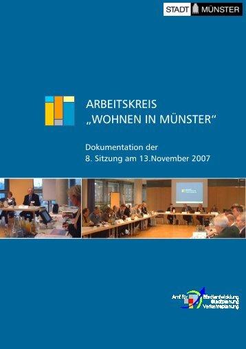 8. Sitzung am 13.November 2007 - Stadt Münster