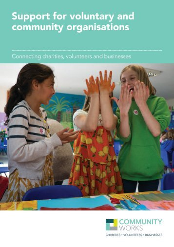 Support for voluntary and community organisations