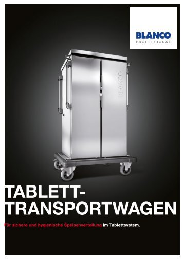 Tablett-Transportwagen