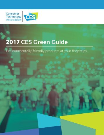 2017 CES Green Guide