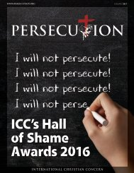 January 2017 Persecution Magazine