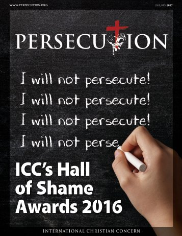 January 2017 Persecution Magazine