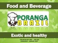poranga brasil price list january 2017 FOB USA - RETAILERS ONLY