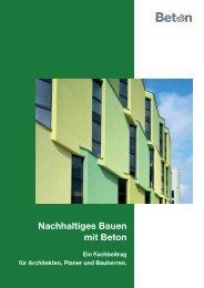 Nachhaltiges Bauen mit Beton - Betonshop