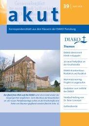 Mammascreening: DIAKO zuständig für den ... - DIAKO Flensburg