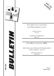 BULLETIN - Raphael