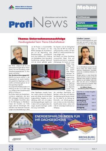 Mobau Wirtz 10 free magazines from mobau wirtz classen de