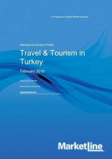 Travel and Tourism Industry, 2016