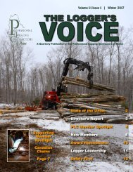 Logger's Voice Winter 2017 - FINAL WEB VERSION