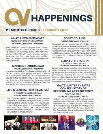 Pembroke Pines February 2017 Happenings