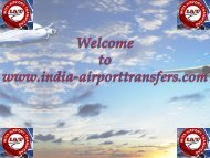 Chennai Airport Transfers