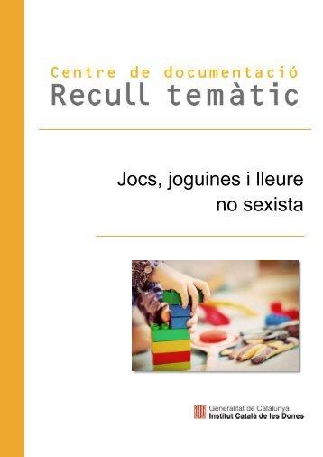 Jocs joguines i lleure no sexista