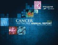 WellStar Cancer Network 2016 Annual Report