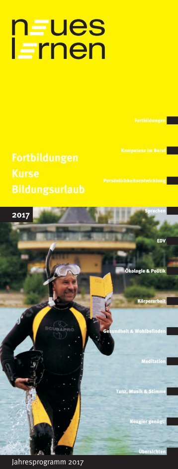 neues lernen – Jahresprogramm 2017