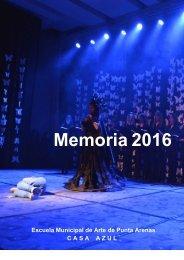 Memoria Casa Azul 2016