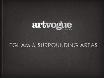 Bespoke art for Egham & Surrounding area